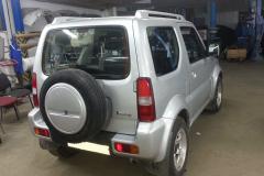 Восстановление и покраска Suzuki-Jimny - После