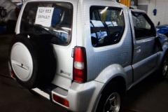 Восстановление и покраска Suzuki-Jimny - До