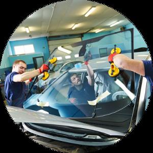 Zamena lobovogo stekla na vsekh avtomobilyakh Ford